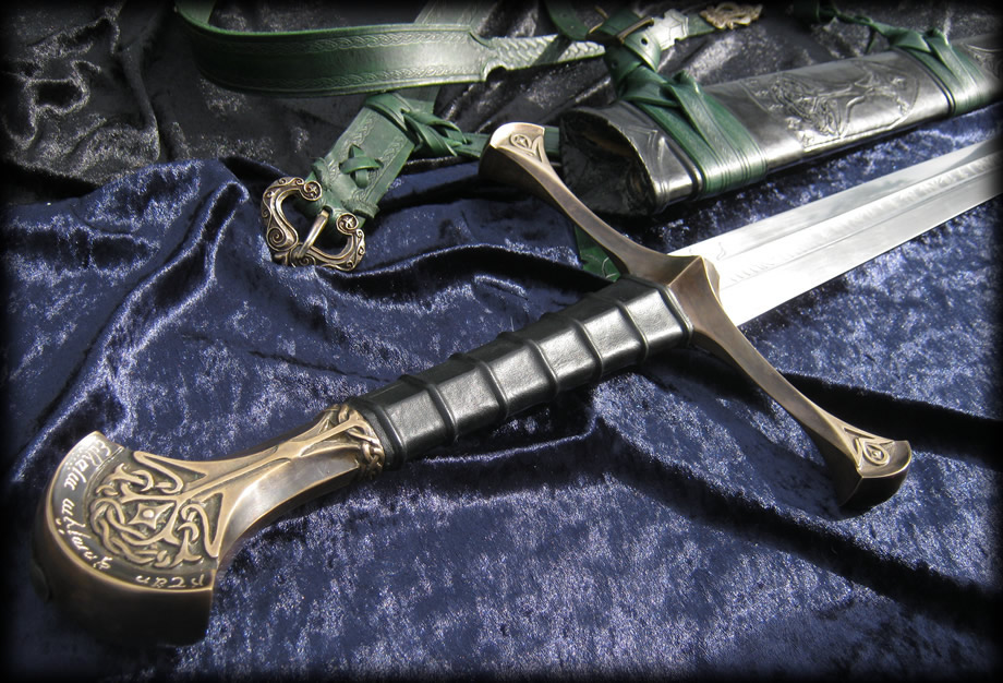 Anduril By Fable Blades Custom Aragorn Sword Fully